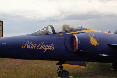 Gate keeper: Blue Angels