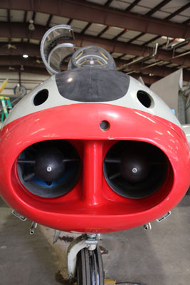Double nose section