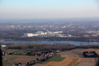 Mechelen from the air