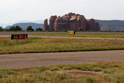 Taxiways in Sedona
