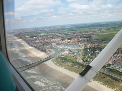 Blankenberge from the sky