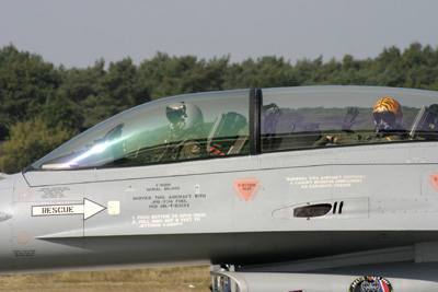 Belgian Dual seater F-16
