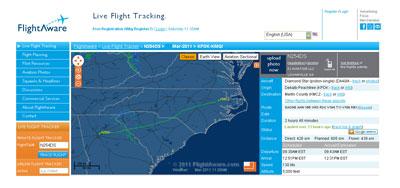 Live-radar-track-met-weer-van-vlucht-KPDK-KMCZ