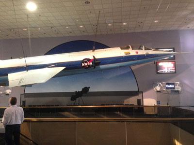NASA Starfighter at Smithsonian