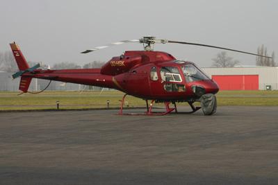 Bike race film helicopter OO-HSK in Kortrijk (EBKT)