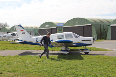 Piper PA28-140 D-ELWW from Ghent Aviation