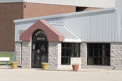 The FBO at Rantoul Air Base