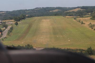 Parked at Aerodrome Villlefranche de Rouergue