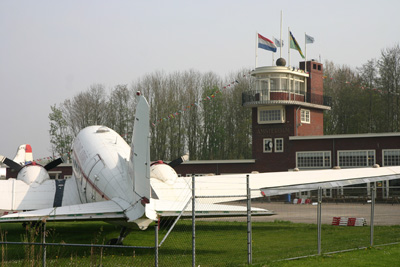 Reconstruction of old Amsterdam Airport Terminal