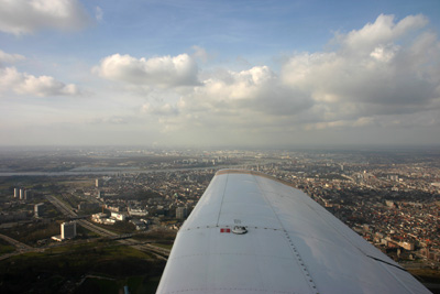 Antwerp from the sky