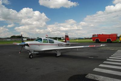 Kortrijk Airport Apron