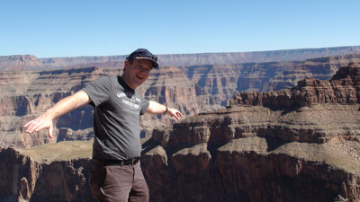 At the Grand Canyon West Rim