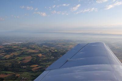 Aveyron under the wing
