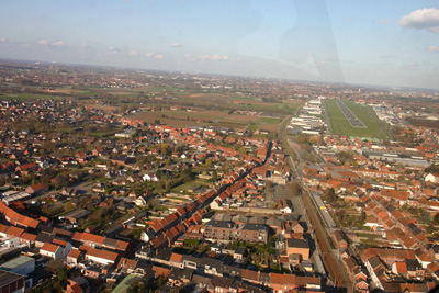 Base runway 06 in Kortrijk (EBKT)