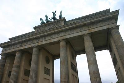 Underneath Brandenburger Tor