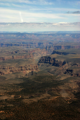 The Grand Canyon comes into view