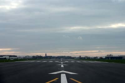 Cleared for takeoff at EBKT