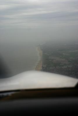 Hazy coastal