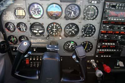 Cockpit Cessna 172