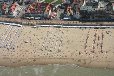 De Haan beach