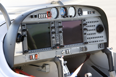 Cold cockpit Diamand DA-40