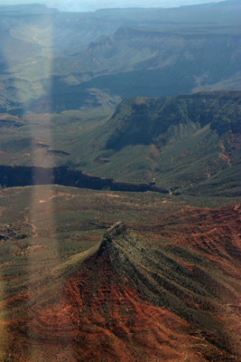 The Dome waypoint of the Grand Canyon