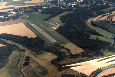 Airport of Eu-Mers-Le Tréport from the air