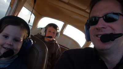 First flight of the youngest