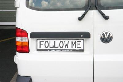 Follow-Me car in Dortmun airport (EDLW)