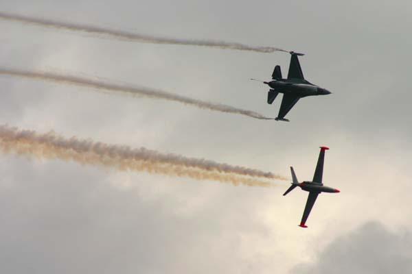Fouga & F16