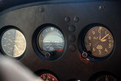 The flight instruments