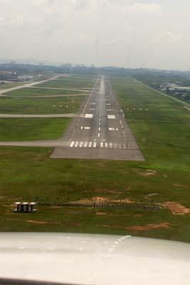 Final at Subang WMSA airport
