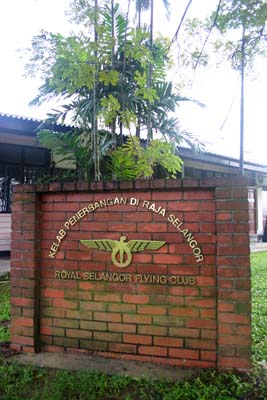 Entrance of the Royal Selangor Flying Club