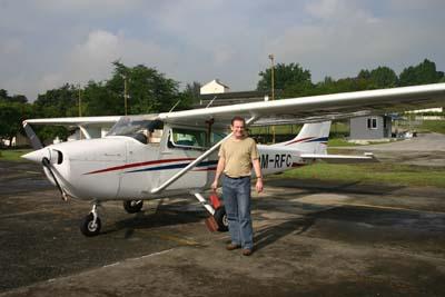 9M-RFC that I flew with