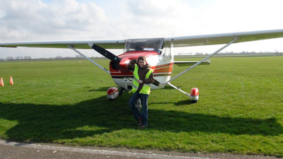 Landed at Zeeland airport