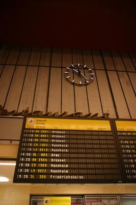 Last commercial flights from Tempelhof