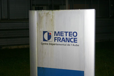 Meteo France on the airport