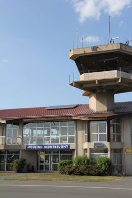 Tower of Moulins airport