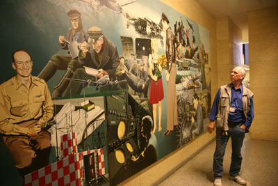 American painting about Tempelhof