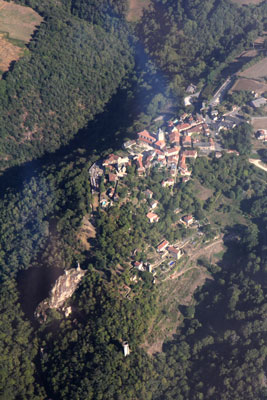 Overflying Peyrusse-le-Roc