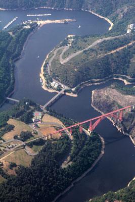 The Eiffel bridge of Garabit