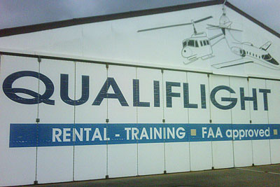 Parked at Qualiflight
