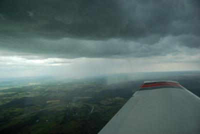 Rainshower approaching Spa (EBSP)