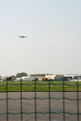Robin in takeoff