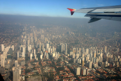Sao Paulo from the air