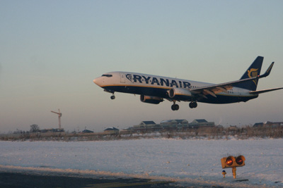Second Ryanair going around !