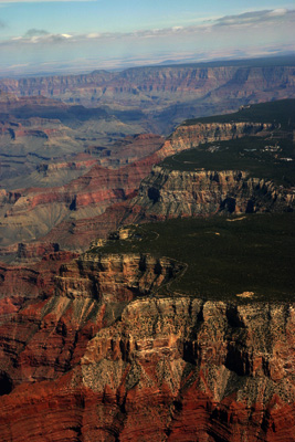 Right side Grand Canyon from Dragon corridor