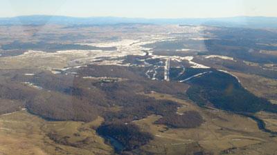 Ski area of languiole