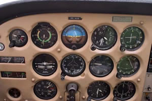 Instrument flying on steam gauges