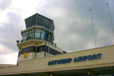 Antwerp airport terminal (EBAW)